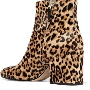 SAM Edelman Leopard Taya Booties Cheetah Fall Boot